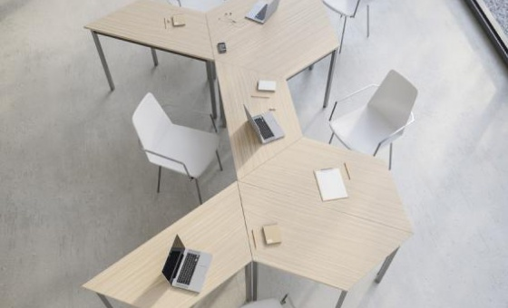 TABLES TRAPEZOIDALES