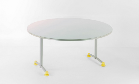MANU TABLE RONDE STRATIFIE PP